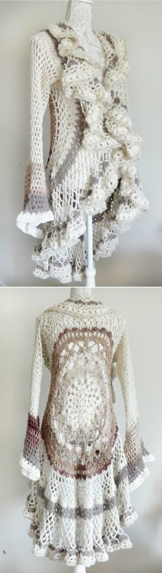 Crochet Circular Jacket Pattern Ideas
