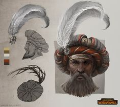 TW: Warhammer - Empire Noble Hat by telthona on DeviantArt