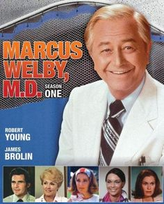 Marcus Welby, M.D. (1969–1976) - Stars: Robert Young, James Brolin, Elena Verdugo. - The show is about doctors Marcus Welby, a general practitioner and Steven Kiley, Welby's young assistant. - DRAMA
