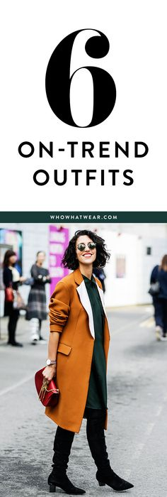 6 affordable looks to try this week
