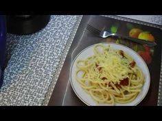 Omáčka na spageti - YouTube Spaghetti, Make It Yourself, Ethnic Recipes, Youtube, Food, Koken, Youtubers, Meals, Noodle