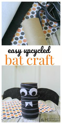 Fine Motor  Bat Craft