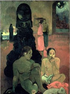 Paul Gauguin: The Great Buddha, 1899.