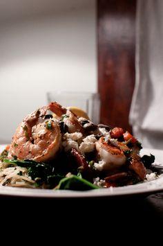 shrimp pasta provençal w/ rapini • lambaste • via nonchalantmom