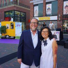 Gisteren samen met @basvanschaik aanwezig op Fashiondag Zuidpoort Delft om stylingadvies te geven  #fashion #stylist #lovemyjob #makingpeoplehappy #bluesunday #delft #hartjedelft