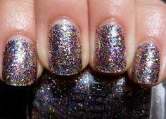 39 Glitter Nail Polish Ideas - Fashion Diva Design