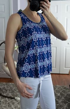Pixley Milani Knit Tank - Stitch Fix Review - Scrubs by Night Blog #stitchfix #stitchfixreview #scrubsbynight