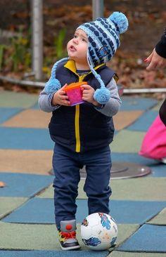 Flynn Bloom Photo - Miranda Kerr Takes Son Flynn to the Park in NYC