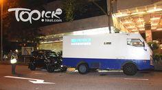 大圍顯徑街四驅車失事撞解款車涉司機醉駕 - 香港經濟日報