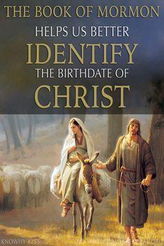 dating christ's birth book of mormon
