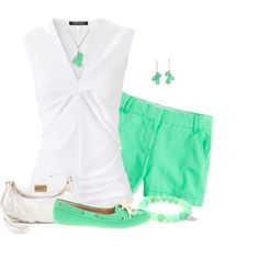 """""""Fresh Mint"""" by angiejane on Polyvore"""