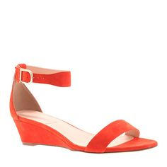 J.Crew - Lillian suede low wedges Just the right shoe can give you the confidence to ace the exam