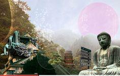 Japón  Pintura digital impresa sobre lienzo Edición limitada de 10 piezas