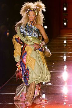 John Galliano for The House of Dior,  Autumn/Winter 2001, Haute Couture