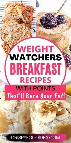 Weight Watchers Pumpkin, Weight Watchers Meal Plans, Weight Watchers Snacks, Weight Watchers Breakfast, Weight Watchers Smart Points, Weight Watcher Smoothies, Weightwatchers Recipes, Ww Recipes, Recipes