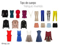 Body Shape: Inverted Triangle Outfits; For broad shouldered women like me! :)