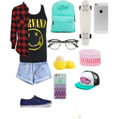 Без названия #17 by veronikimiki on Polyvore featuring polyvore, мода, style, Vans, Joolz by Martha Calvo, Casetify, Accessorize and Eos