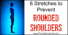 6 Stretches to Prevent Rounded Shoulders - It's amazing how many young people have poor posture and mainly slouched, rounded shoulders. Bad posture can lead to a ton of back problems later in life. Yoga Fitness, Fitness Tips, Fitness Motivation, Health Tips, Health And Wellness, Health Fitness, Health Care, Better Posture, I Work Out