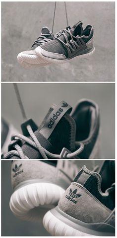buy popular 6c845 0b126 rubies.work ... adidas Originals Tubular Radial  Grey Laufschuhe, Adidas