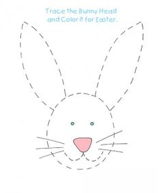 Easter tracing activity