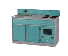 KITCHEN SINK STOVE & OVEN Amish Wood Play Furniture ~ INDUSTRIAL SERIES