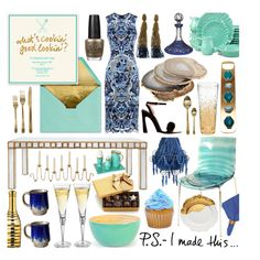 """""""Entertaining Essentials"""" by hmb213 on Polyvore"""