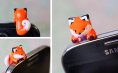 DIY: Fox Dust Plug Polymer Clay Tutorial