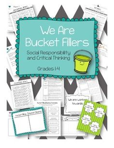 Using Bucket Filling in my elementary classroom made my students more mindful of how their actions affected others.  I love kind classes, and in 5 lessons my kids could not wait to fill buckets!