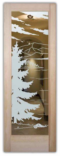 Glass Entry Doors Lake Arrowhead Positive