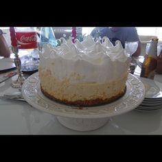 #Torta de limão com chocolate branco