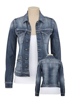 Levi's Ladies Jean Jacket | Jacket: 80s -Levis- Womens dark blue ...