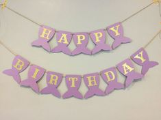 Mermaid birthday banner first birthday mermaid party under