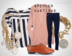 Spencer Hastings Style- The Posh Gurl and Pretty Little Liars