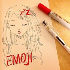zzz | #mekaworks #drawing #emoji
