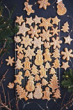What to Bake Now: Gingerbread Cookies ~ the 30 best gingerbread cookie recipes from simple cut out snowflakes and hearts, to Dutch speculaas and more!