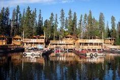 #Fishing at Jan Lake Lodge in #Saskatchewan, Canada.