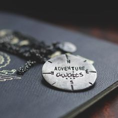 Adventure Awaits Travel Inspired Necklace