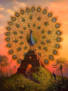 35 Surreal and Creative Oil Paintings by Artist Vladimir Kush. Read full article: http://webneel.com/webneel/blog/realistic-paintings-and-creative-thinking-artist-vladimir-kush | more http://webneel.com/paintings | Follow us www.pinterest.com/webneel