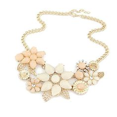 Meidus Classic Bauhinia Flower Alloy Collarbone Short Necklace Geometric Jewelry Choker ** You can get more details by clicking on the image.(This is an Amazon affiliate link and I receive a commission for the sales)