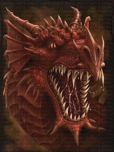 Animierte Fabelwesen Gifs: Drachen-HQ - Gif-Paradies