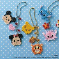Seed Bead Patterns, Beaded Jewelry Patterns, Hama Beads Patterns, Beading Patterns, Miyuki Beads, Fuse Beads, Diy Perler Beads, Perler Bead Art, Stitch Disney