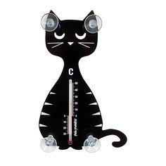 Pluto Thermometer Katze sitzend online kaufen ➜ Bestellen Sie Thermometer Katze sitzend für nur 9,95€ im design3000.de Online Shop - versandkostenfreie Lieferung ab 50€!