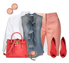"""""""Bermuda Shorts"""" by hope-houston ❤ liked on Polyvore"""