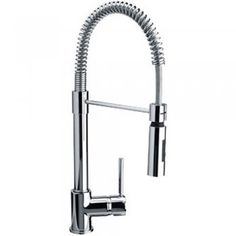 Franke Coxy Chrome Single Lever Pull Out Spray Kitchen Sink Mixer Tap - Franke from TAPS UK