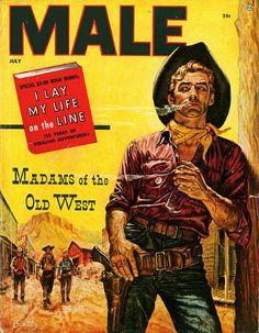 men's pulp magazine