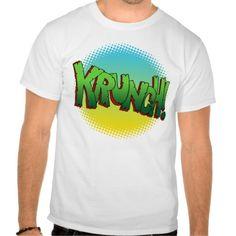 Krunch Text Sound Effect Shirt