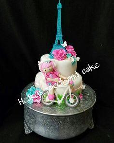 Paris cake Paris Cakes, Cupcakes, Birthday Cake, Sweet, Desserts, Food, Crack Cake, Candy, Tailgate Desserts