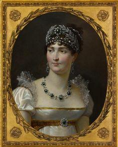 1810 Empress Josephine (Portrait de l'impératrice Joséphine)