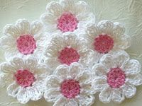 Learn a few hints of crochet flower patterns with easy step by step #easycrochet