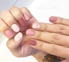 coolest nail art ideas for spring and summer 169 Korean Nail Art, Korean Nails, Minimalist Nails, Trendy Nail Art, Stylish Nails, Hair And Nails, My Nails, Gel Nagel Design, Short Nails Art